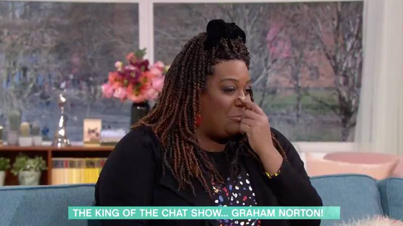 Alison Hammond Left Mortified After Dead Dog Gaffe While Interviewing Graham Norton On This Morning