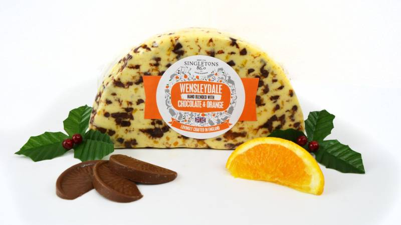 Morrisons Is Selling Chocolate Orange Wensleydale Cheese For Christmas