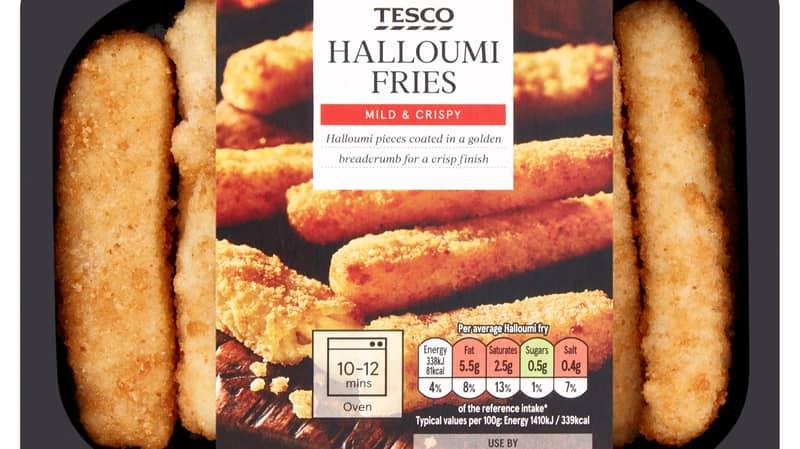Tesco Is Now Selling Halloumi Fries