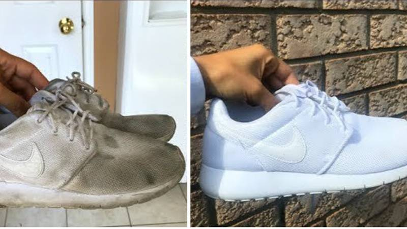 Everyone's Going Mad For This Trainer Cleaning Hack