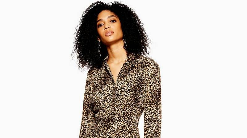 Topshop's Sell-Out Snakeskin Dress Now Comes In Leopard Print