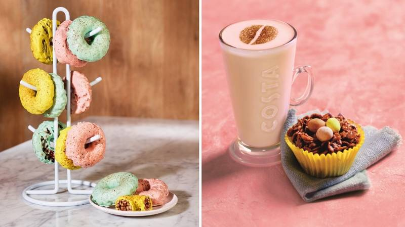 Costa's New Spring Menu Is Here And It's Full Of Easter Treats