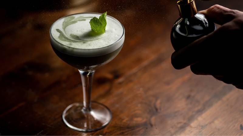 This Chlorophyll Brunch Cocktail Could Cure Your Hangover