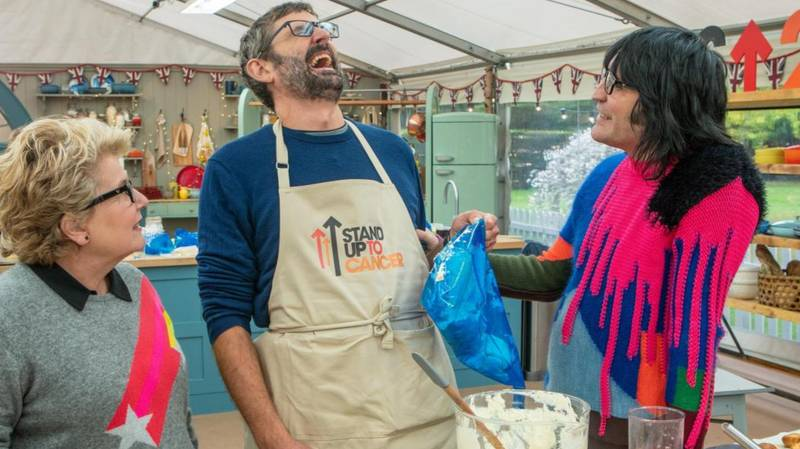 PSA: Louis Theroux And Ovie Soko Appear On 'The Great Celebrity Bake Off' Tonight