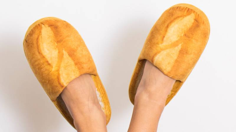 You Can Now Buy Bread Slippers For The Carb Lover In Your Life