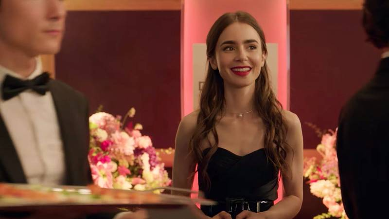 First Trailer Drops For Lily Collins' New Netflix Series 'Emily in Paris'