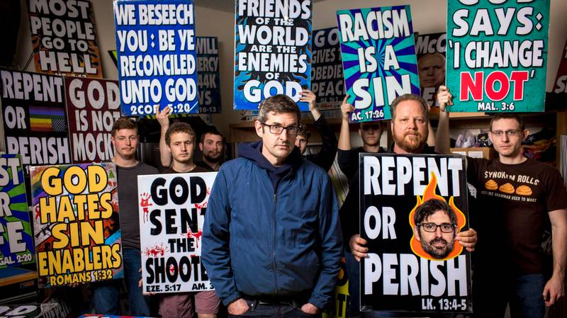 Louis Theroux Will Revisit Westboro Baptist Church In New BBC Documentary