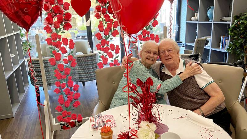 Watch The Moment A Devoted Wife Surprises Dementia-Sufferer Husband In Care Home After A Month Apart