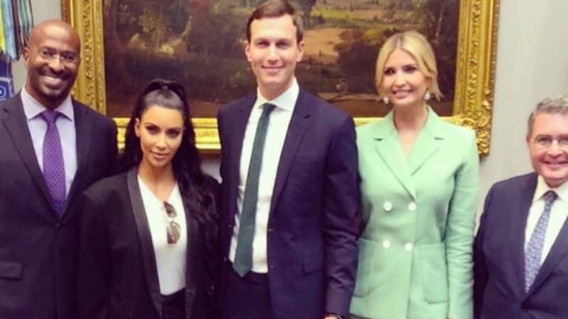 Kim Kardashian Returns To The White House To Help Free A Prisoner