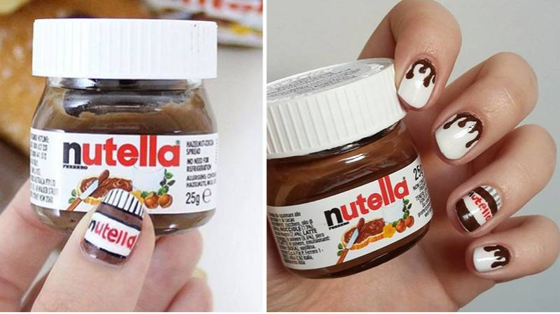 Nutella Nails Are Now A Thing And They're Good Enough To Eat