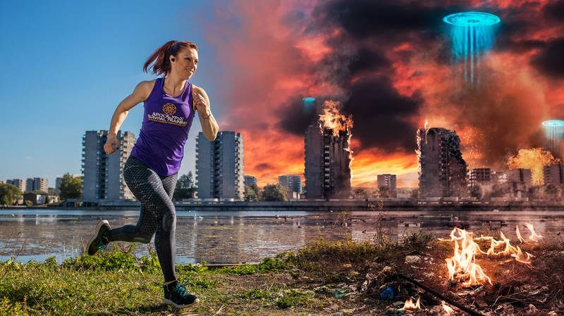 You Can Now Pretend You're Training For The Apocalypse With New Fitness App