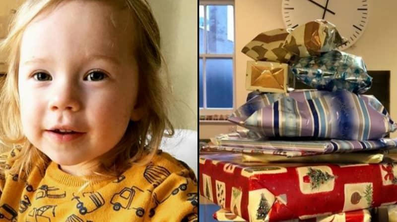 Elderly Neighbour Leaves Little Girl 14 Years Of Christmas Presents After He Dies