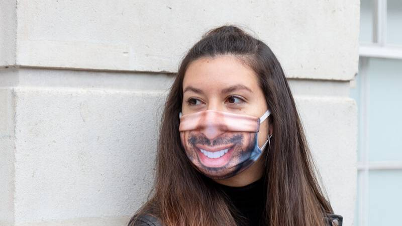 You Can Now Get A Face Mask Printed With Any Photo You Like