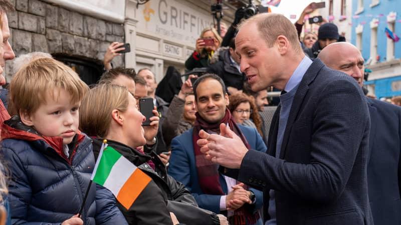 Prince William Breaks Protocol To Take Selfie With Fan