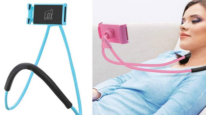 These Neck Mounts For Your Phone Are The Perfect Present For Your Lazy Other Half