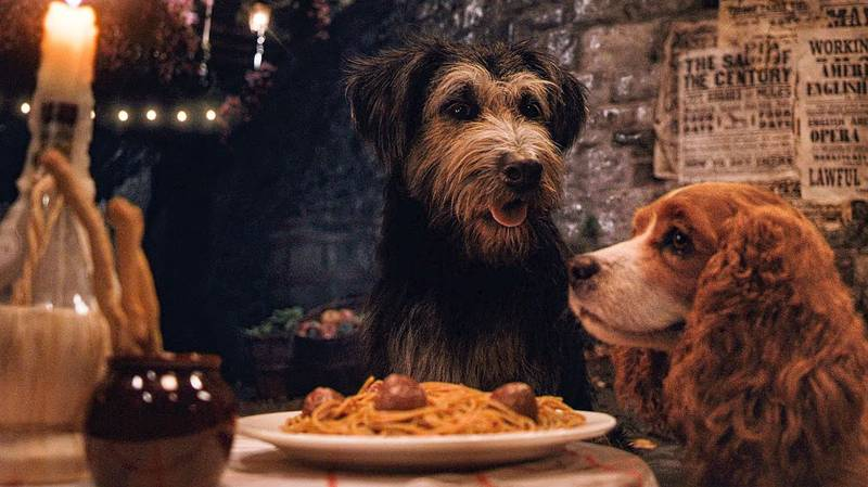 People Are Going Mad For 'Lady And The Tramp' On Disney+