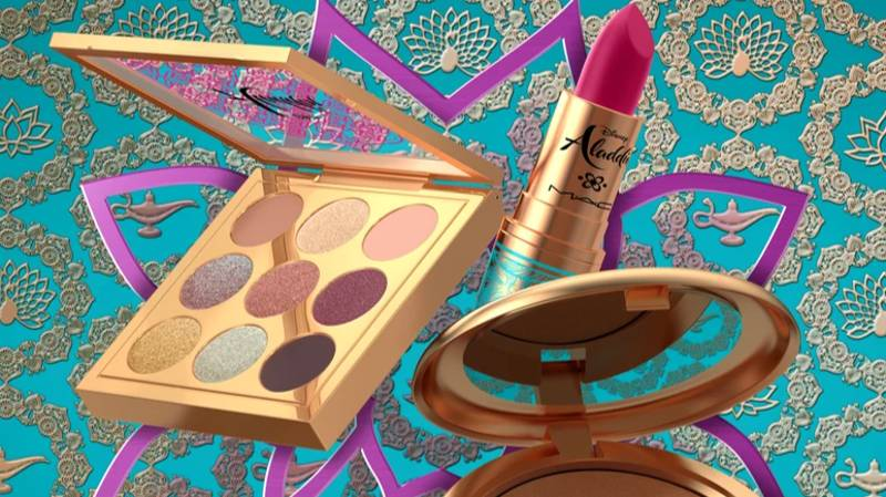 MAC Is Collaborating With Disney For An 'Aladdin' Range