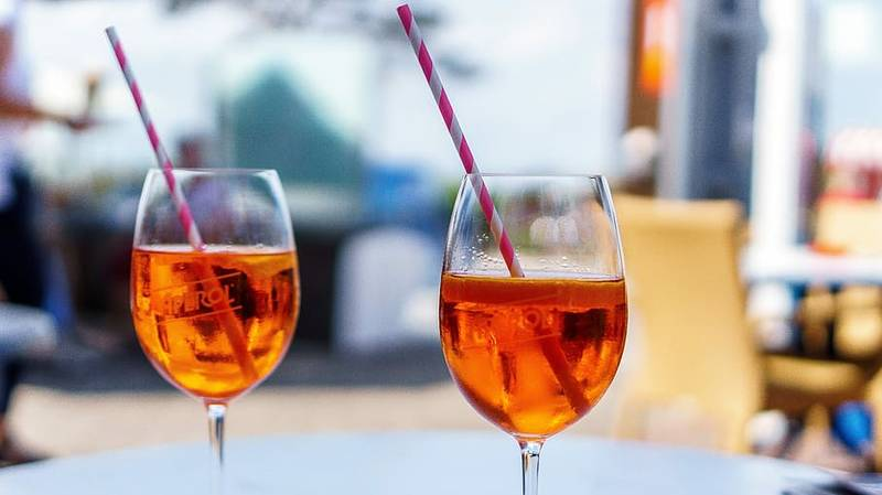 Aperol Spritz Hair Is The Tasty Trend You Need To Try This Summer