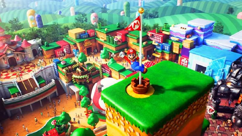 Super Nintendo World Theme Park To Open In Spring 2021