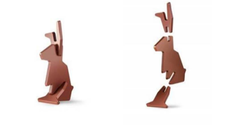 Ikea Is Selling A Flat-Pack Chocolate Bunny For You To Build, Then Demolish This Easter