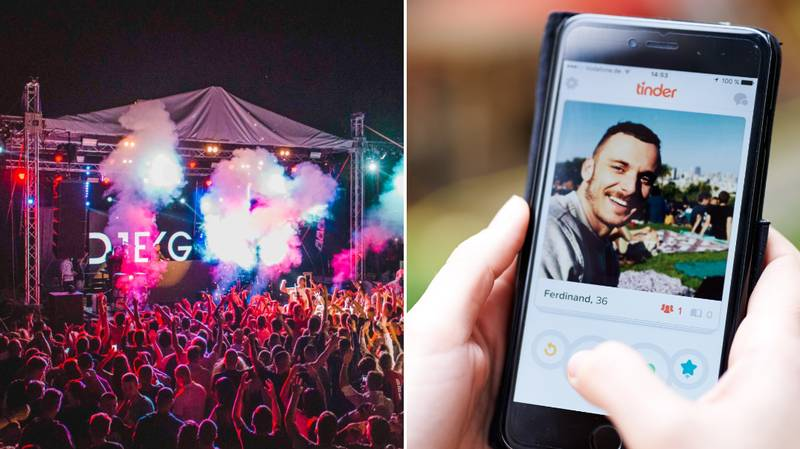 Tinder's New Festival Feature Will Let You Pre-Plan Your Event Hookups