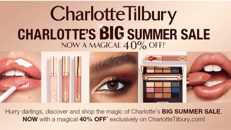 Charlotte Tilbury Is Launching A Massive Sale With 40% Off Your Favourite Palettes