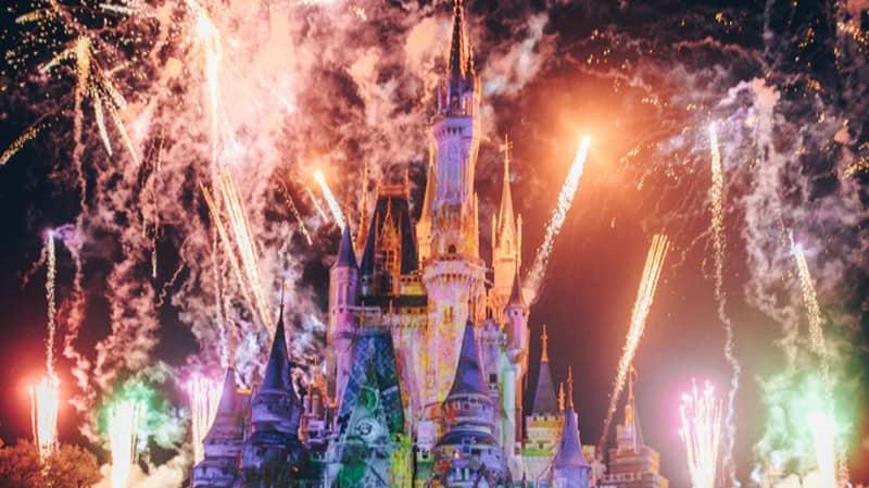 Disneyland Paris Is Streaming Its Illuminations Show Today