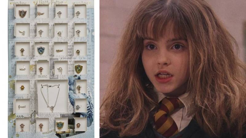 ASDA Is Selling A Harry Potter-Themed Advent Calendar Full Of Jewellery