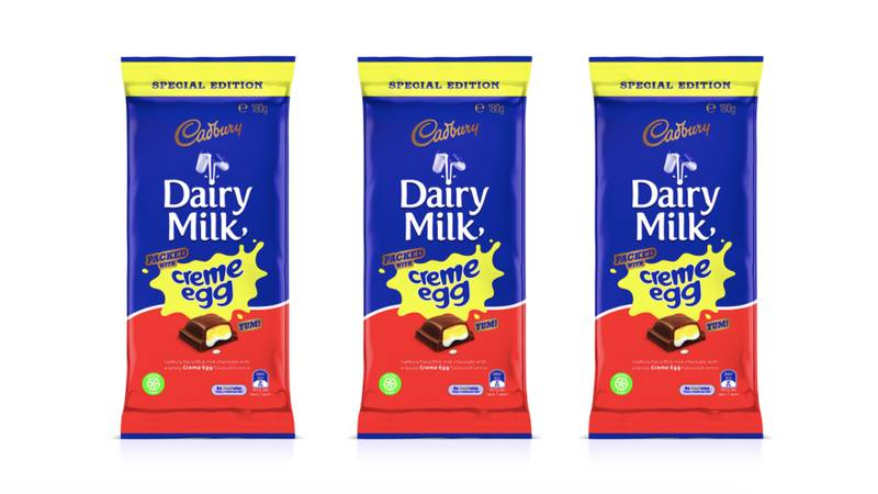 A Creme Egg Dairy Milk Bar Is Here And We Need it Now