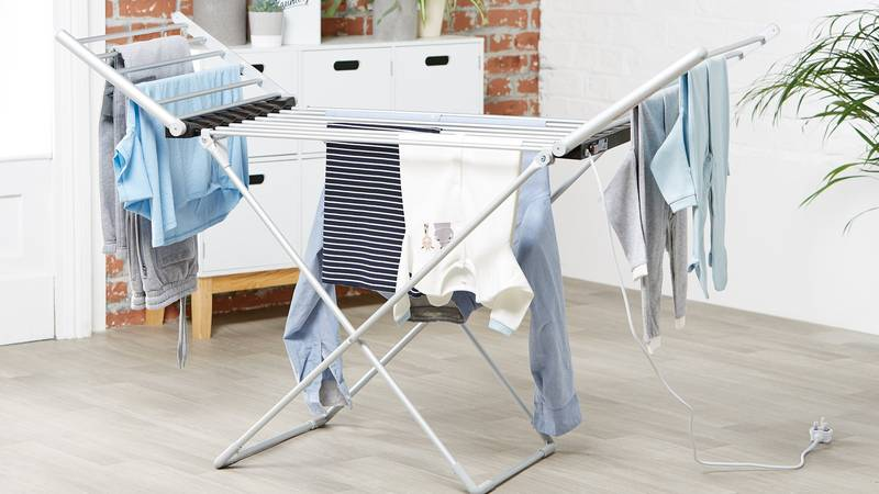 Aldi's £28.99 Heated Clothes Airer Is Back - And It's An Absolute Gamechanger