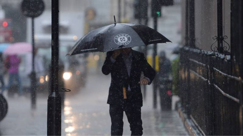 Severe Flooding And Storms Expected As Tail End Of Hurricane Humberto Batters The UK