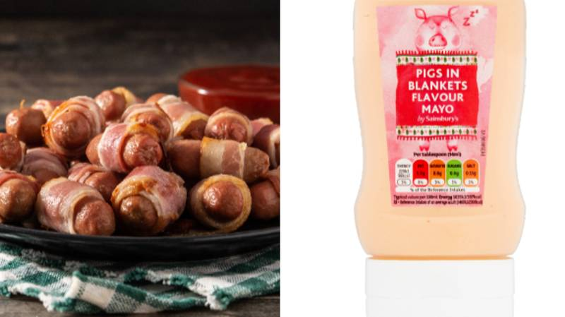 Sainsbury's Is Selling Pigs-In-Blankets Mayo