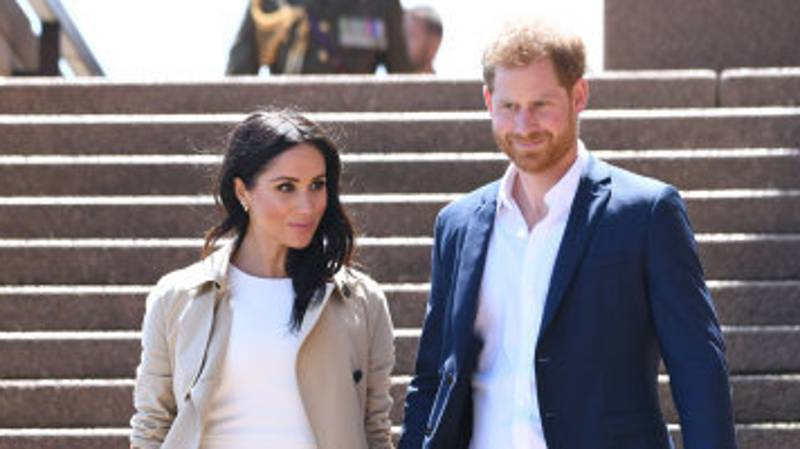 Meghan Markle Gives First Glimpse Of Baby Bump On Royal Tour