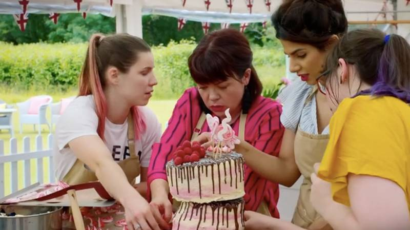 New GBBO Footage Of Ruby's Collapsing Cake Arouses Suspicions