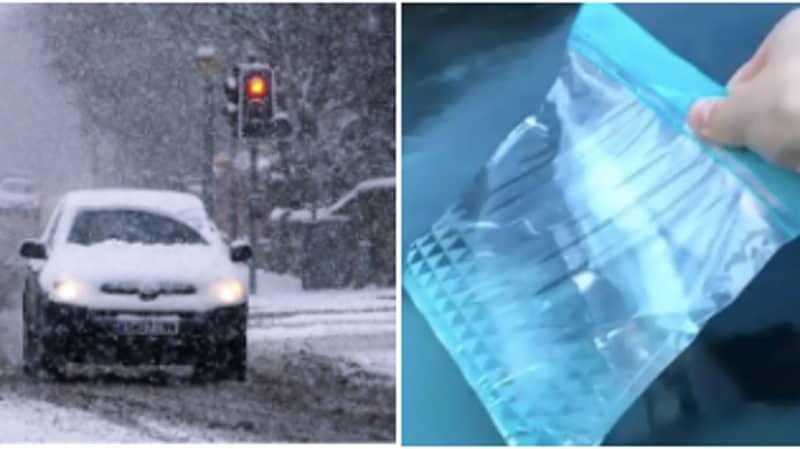 Motorist Shares Genius Hack For Defrosting Windscreen