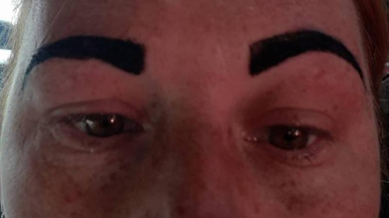 Woman Left With 'Angry Birds' Eyebrow After A Disastrous Trip To The Salon