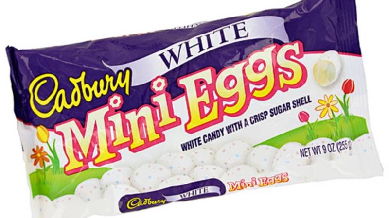 You Can Now Get Cadbury White Mini Eggs Just In Time For Easter