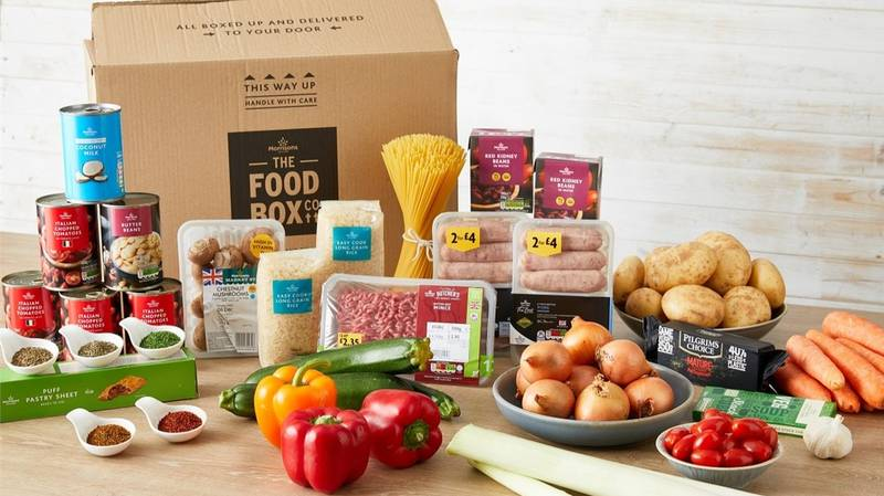 Morrison Launches New £30 Food Box For Family Of Four Following Government Free School Meal Backlash