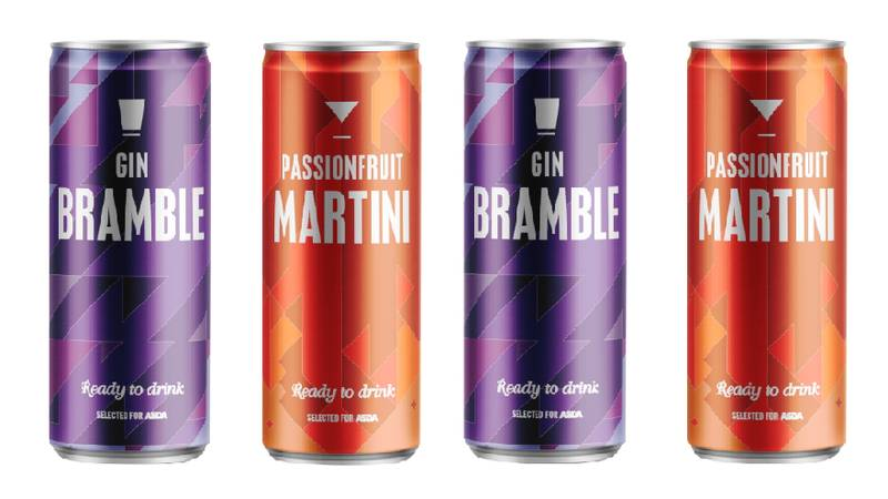 ASDA Releases £1 Cans Of Passion Fruit Martini And Bramble Gin In Time For The Heatwave