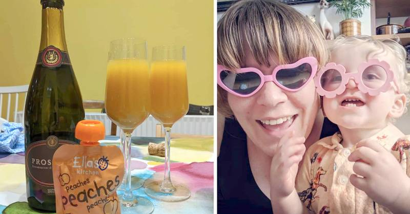 Mum Mixes Prosecco With Baby Food Puree In Game-Changing Cocktail Hack
