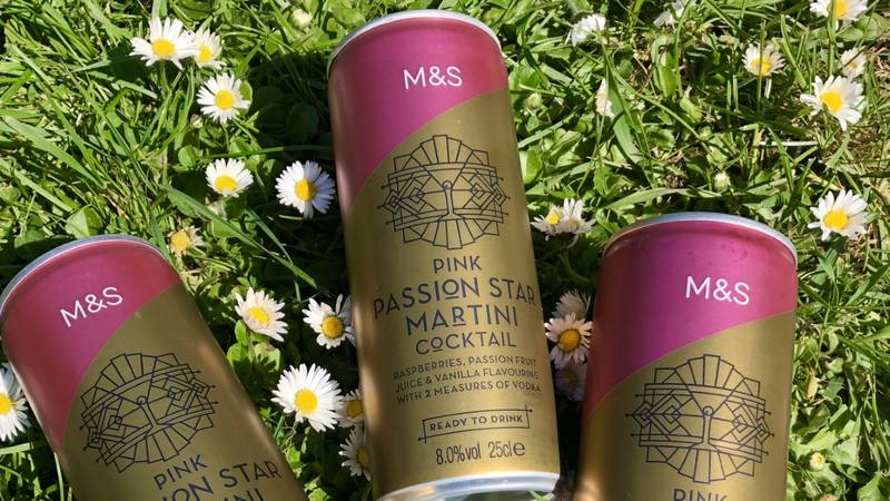 M&S Has Launched Pink Pornstar Martini Tinnies