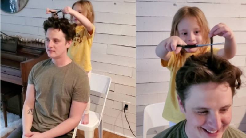 People Are Letting Their Children Cut Their Hair During Lockdown With Hilarious Results