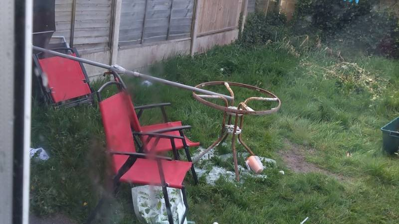 Single Mum Is Cruelly Trolled Over The State Of Her Garden By Neighbours