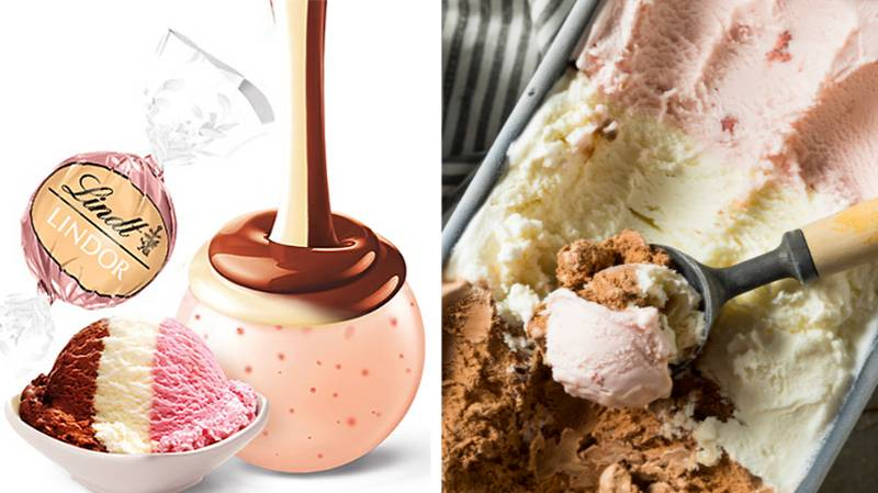 People Are Losing It Over Lindt's Neapolitan White Chocolate Truffles