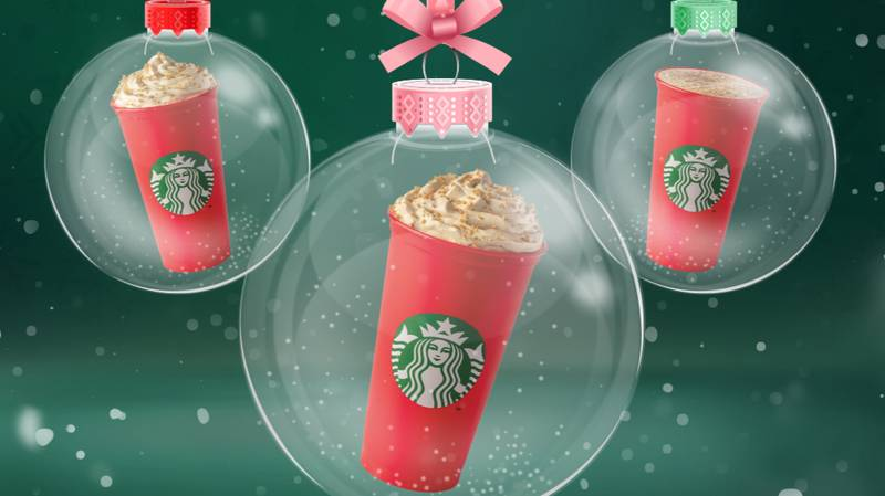 Starbucks' 2020 Christmas Menu Launches Next Week