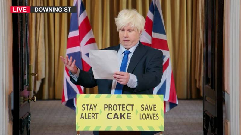 People Are Saying Matt Lucas' Boris Johnson Skit Was The Best 'GBBO' Opening Of All Time