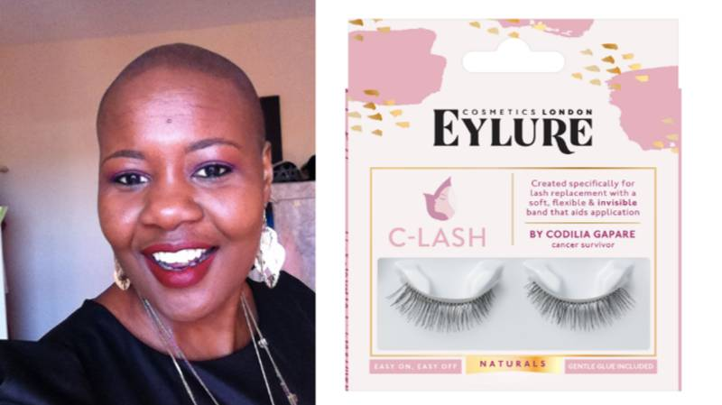 This Cancer Survivor Now Creates Lashes For Chemo Patients