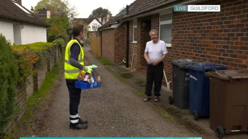 'This Morning' Disaster As Hero Milkman Is Told Off By Grumpy Customer Live On Air