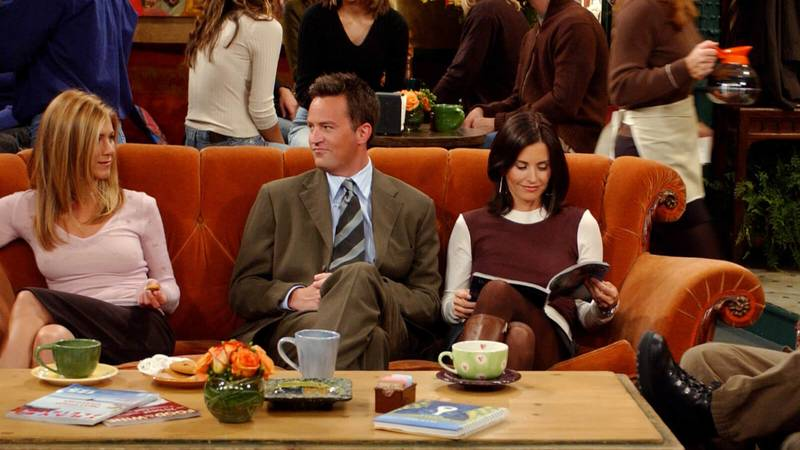 A 'Friends' Homeware Collection Just Dropped Featuring A Replica Of The Central Perk Sofa