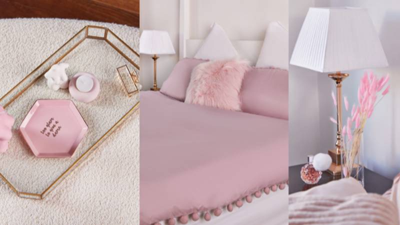 PrettyLittleThing Has Launched A Dreamy Marble And Pink Homeware Range